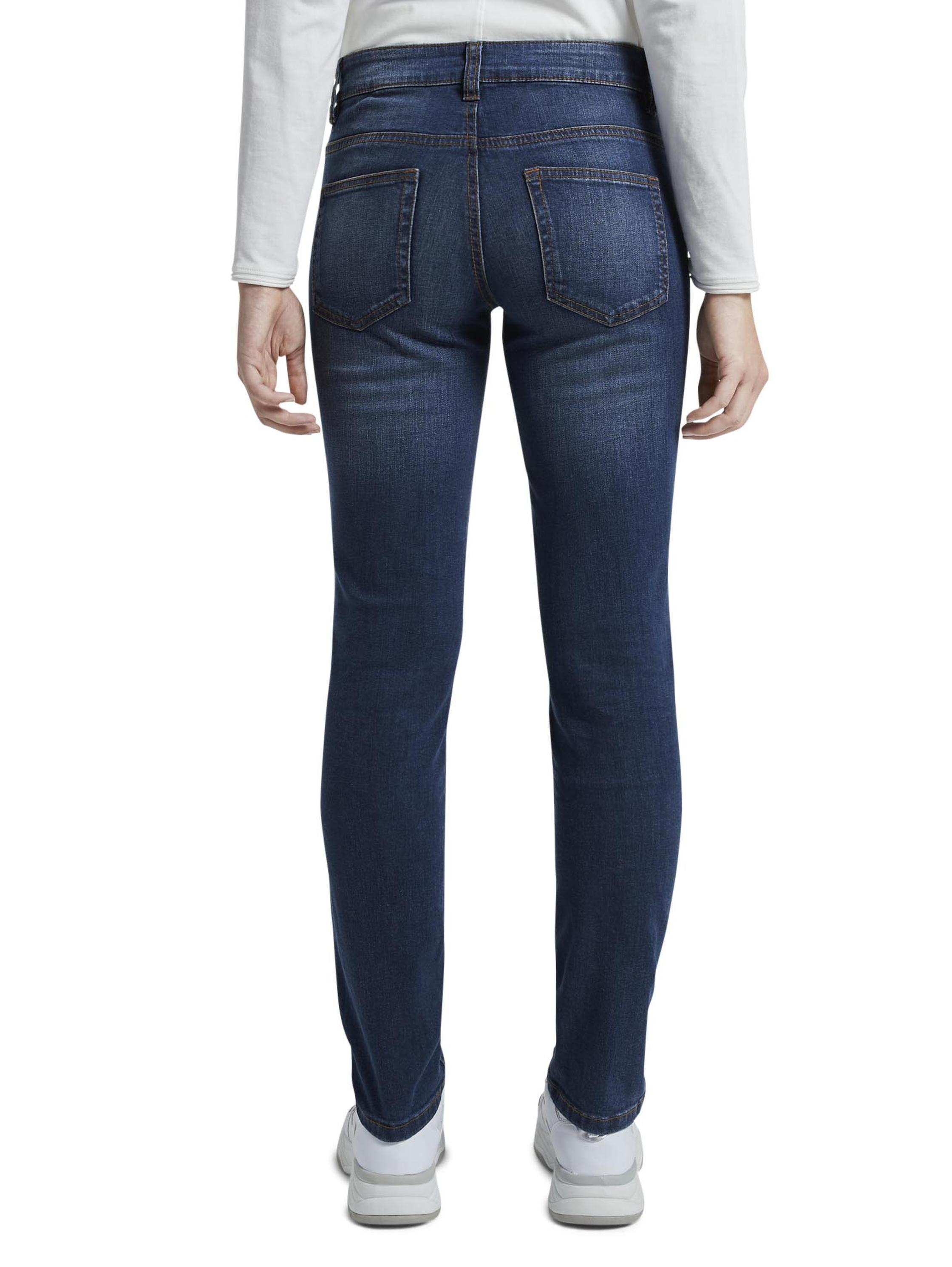 Tom Tailor Alexa slim, dark stone wash denim         Blue