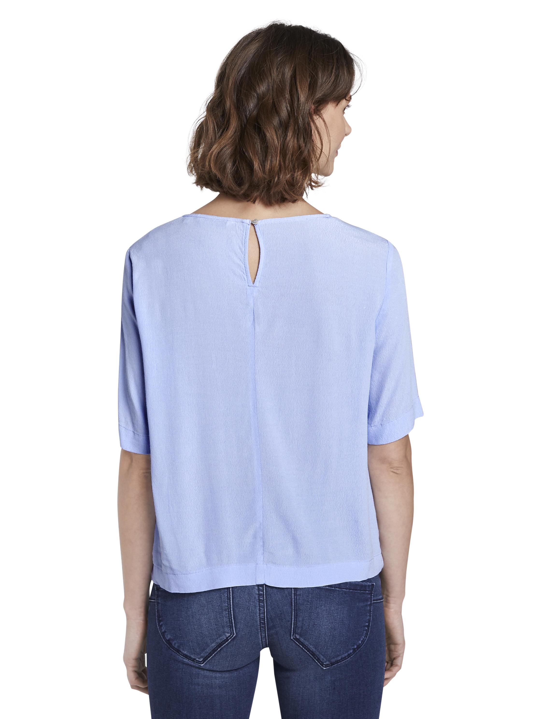 blouse easy shape, Parisienne Blue