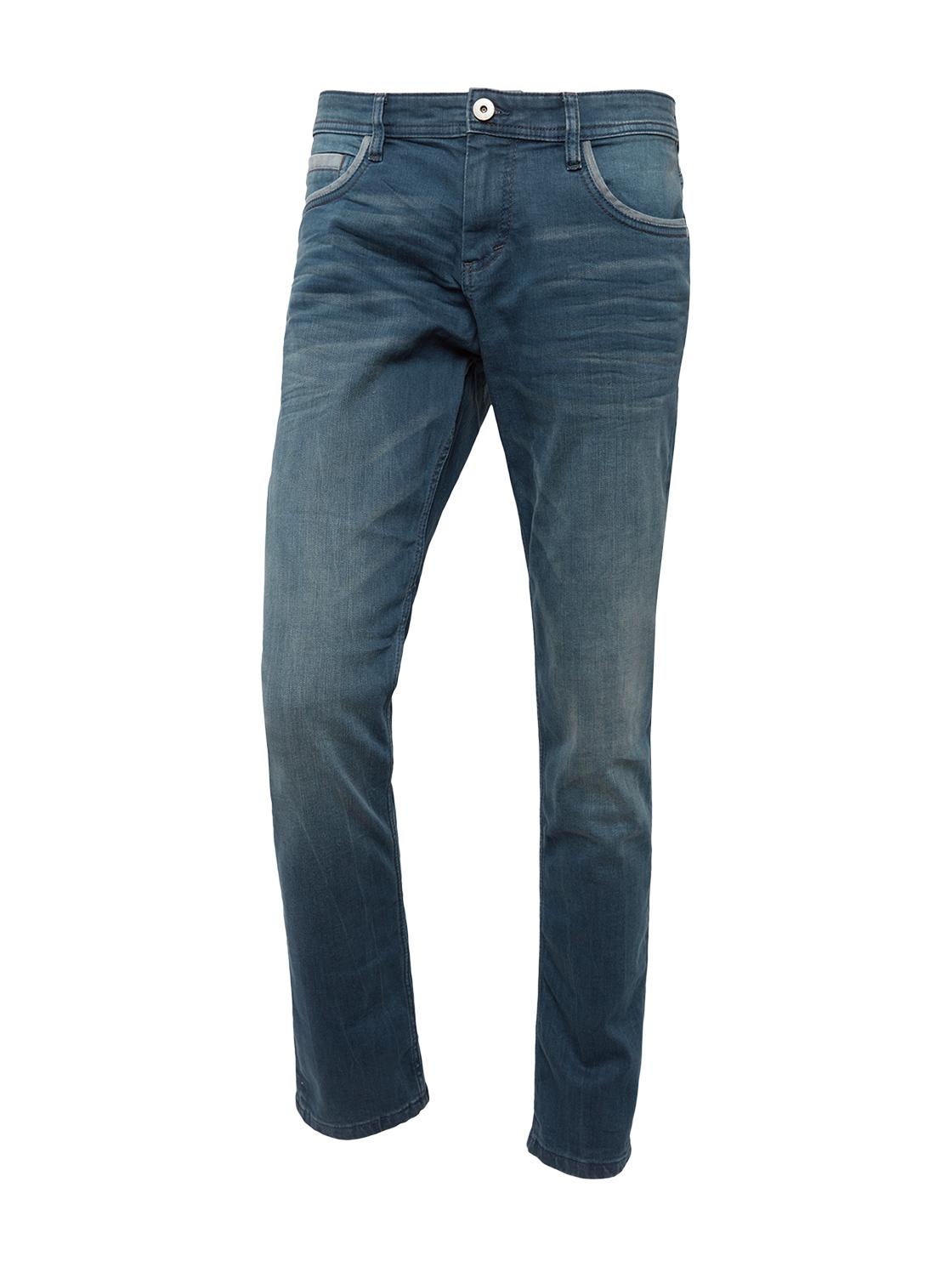 5POCKET  JOSH REGULAR SLIM Den, blue denim grey cast