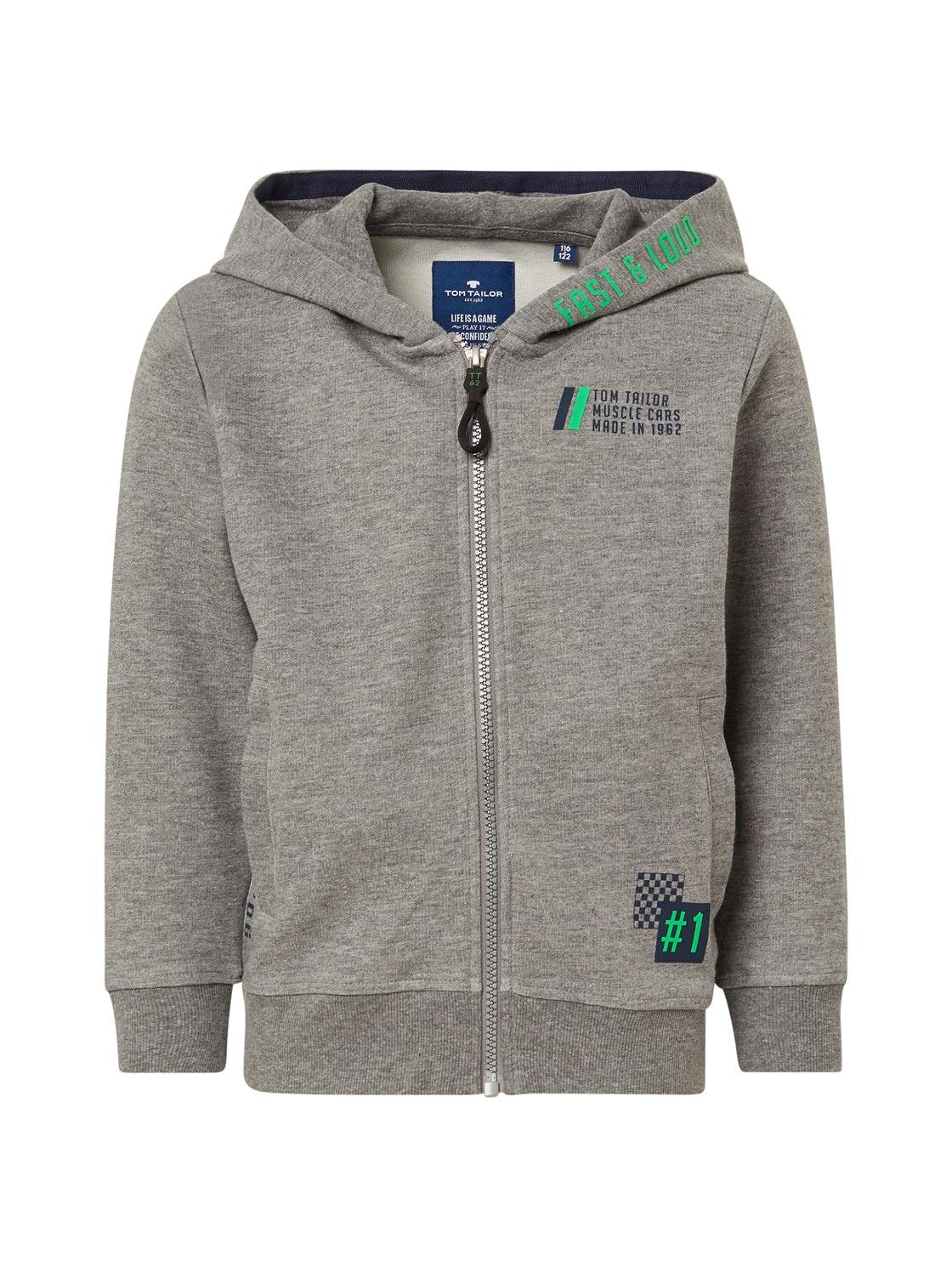 sweatjacket placed print, original-multicolored