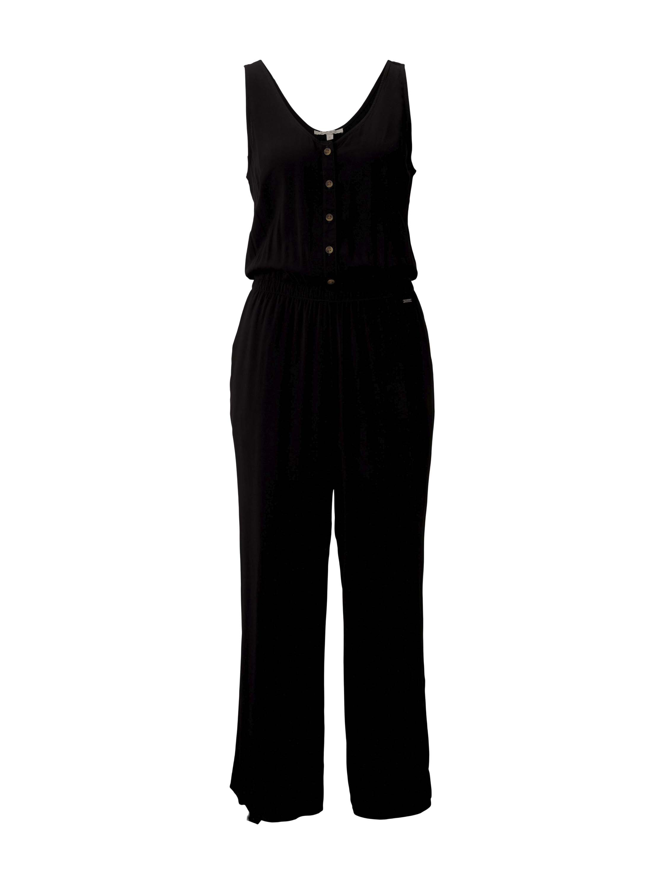culotte overall, deep black