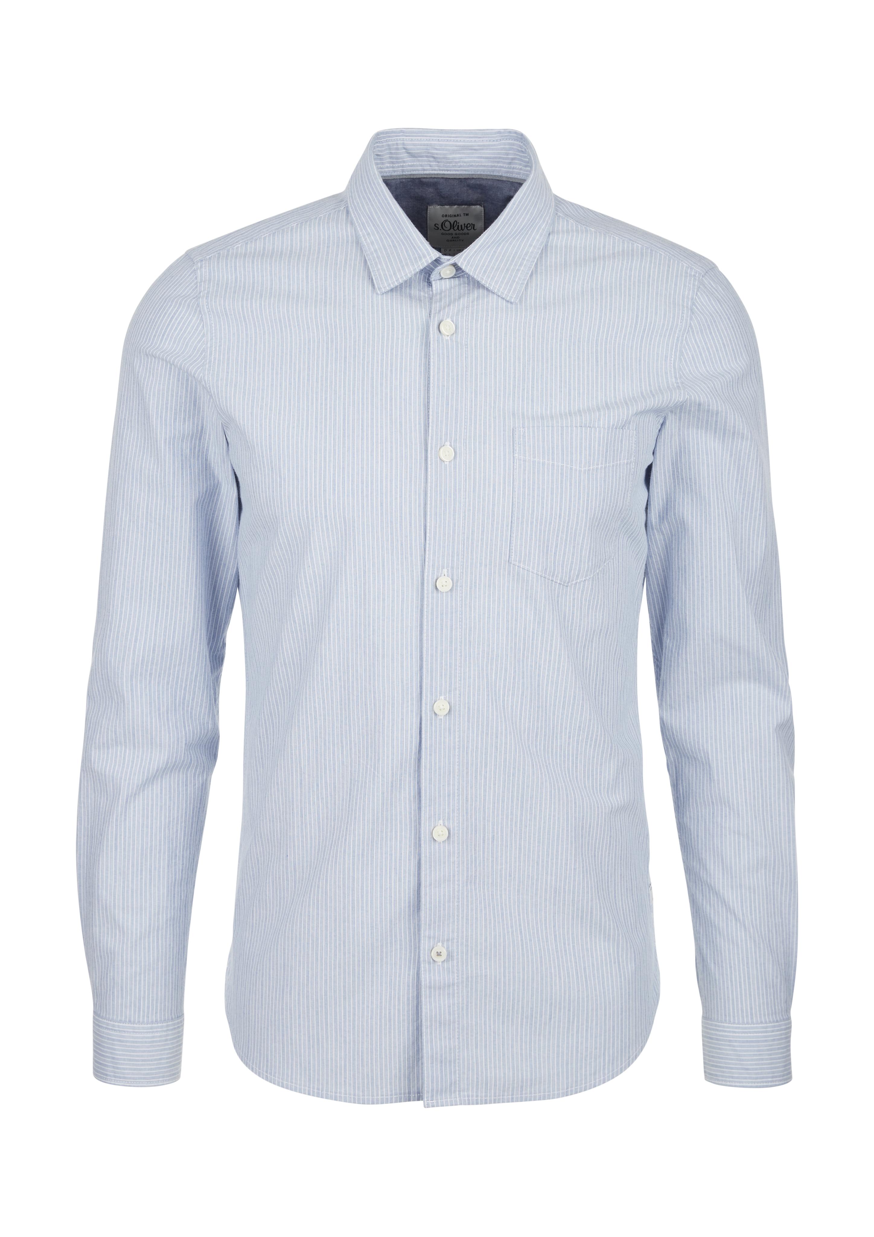 Baumwollstretch-Hemd