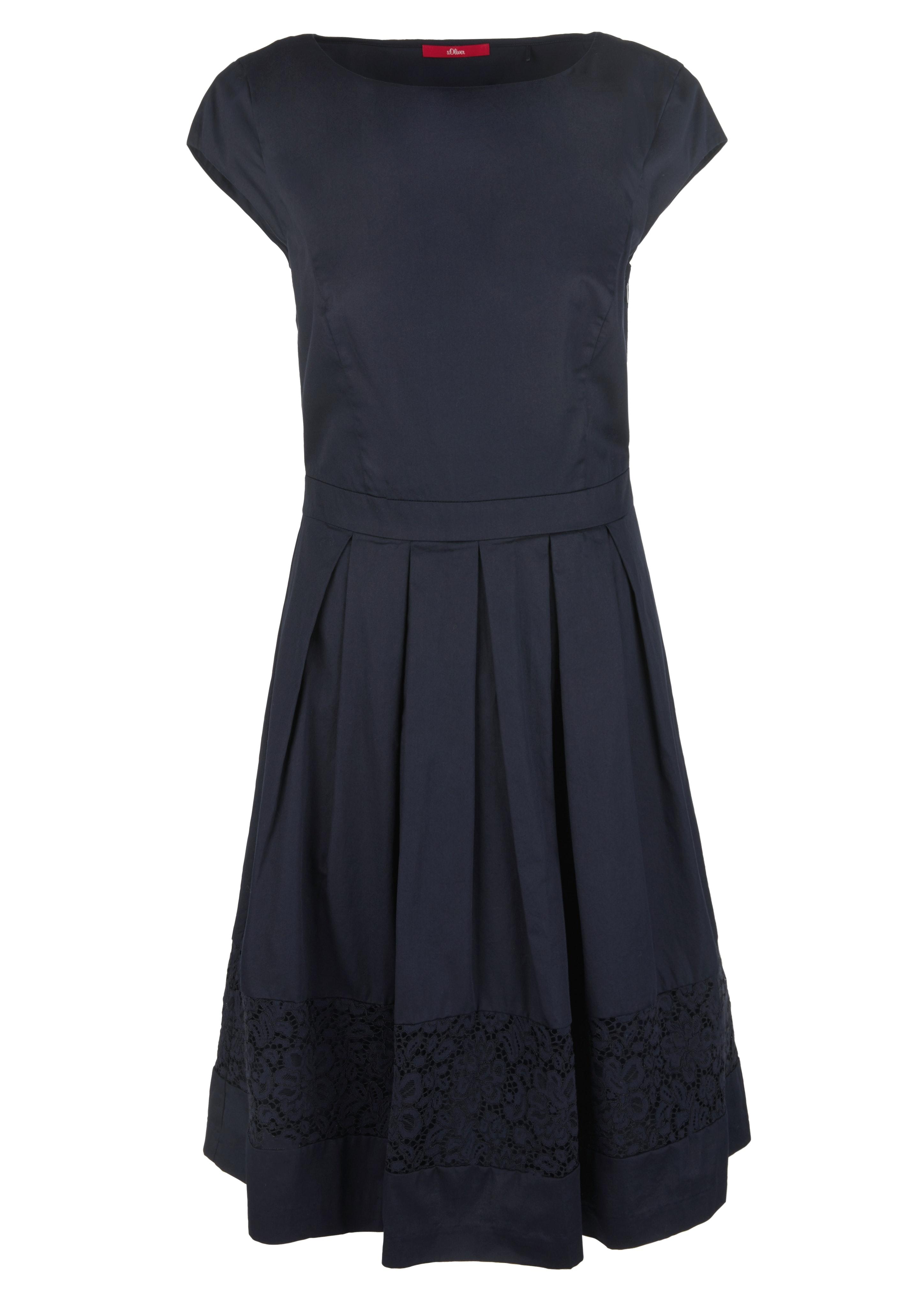 Baumwollsatin-Kleid