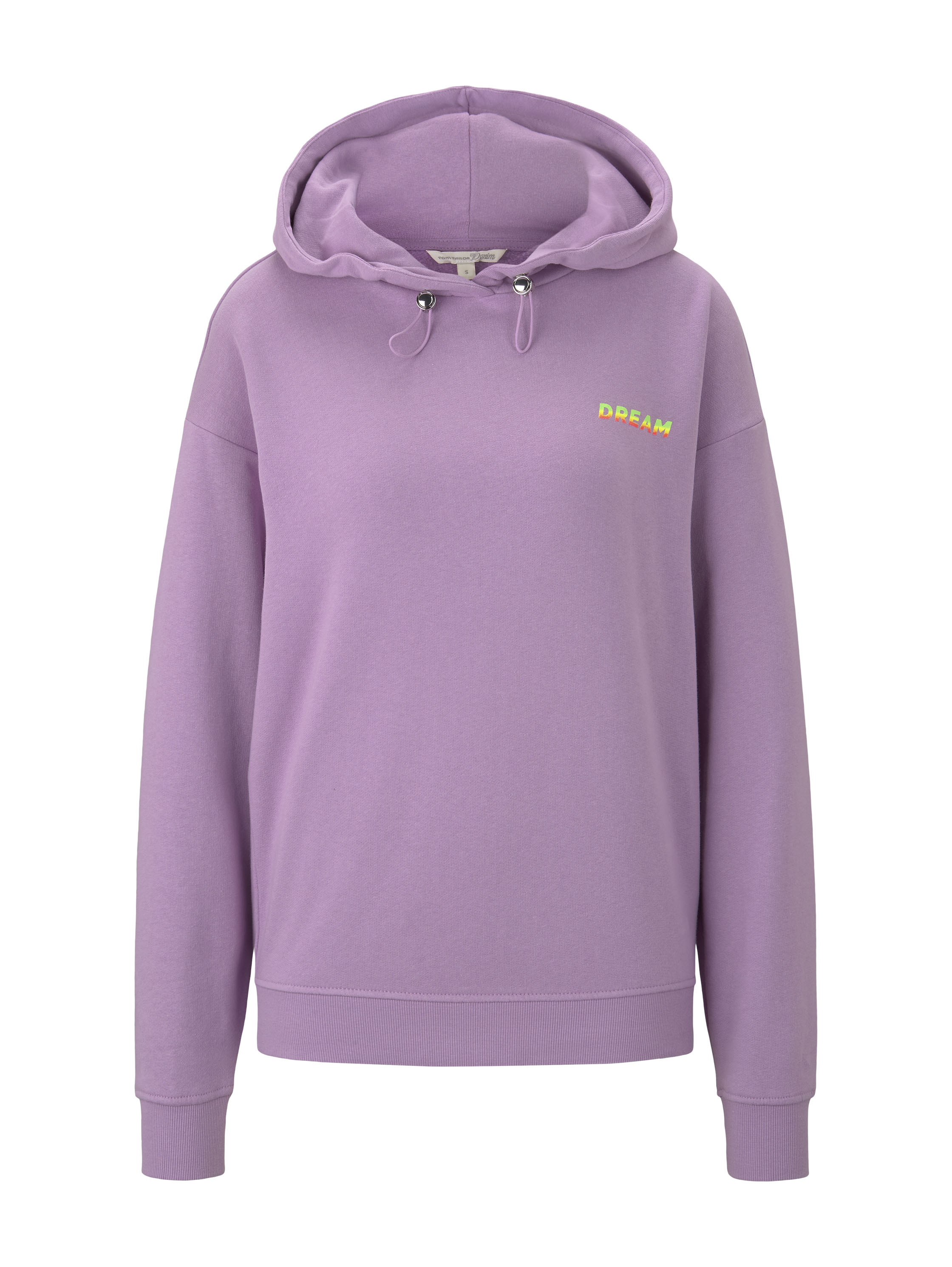 hoodie with back print artwork, sweet lavender                Purpl