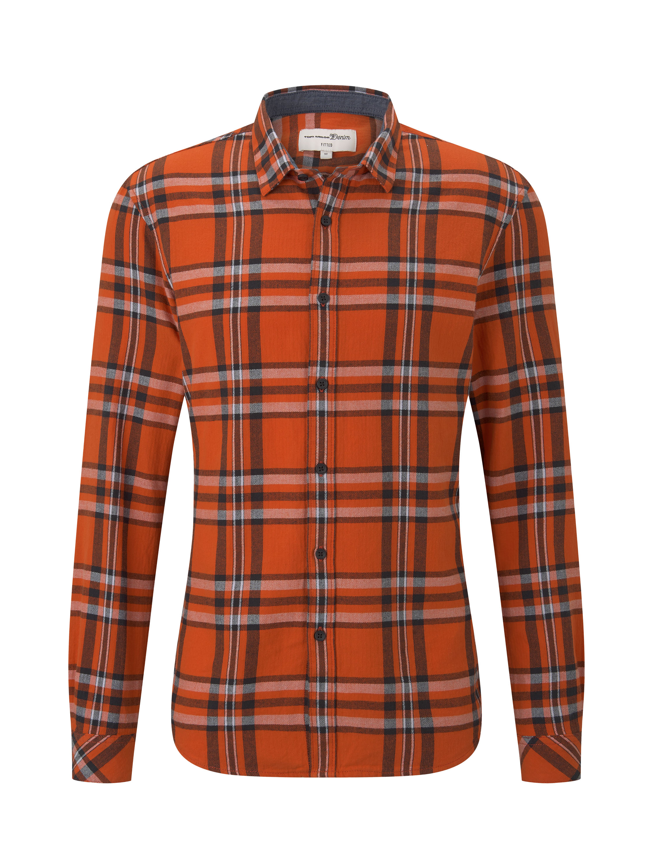 authentic grindle check shirt, bright red black check        Red