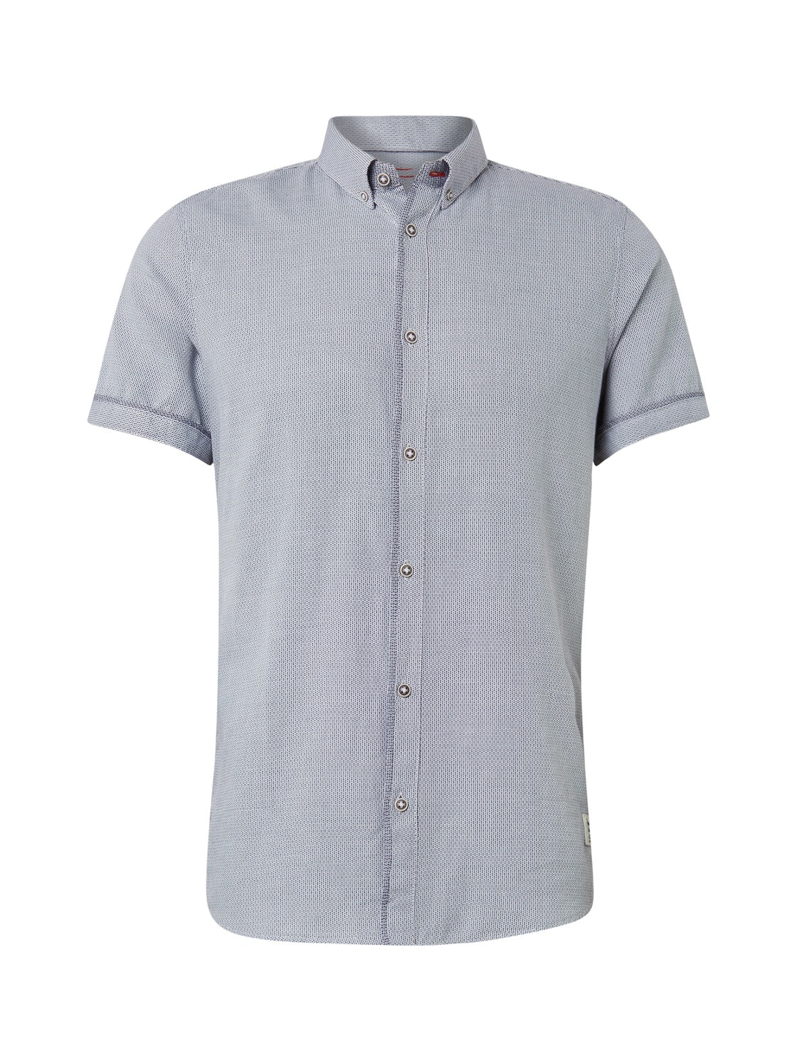 floyd casual structure shirt, white navy structure          Blue
