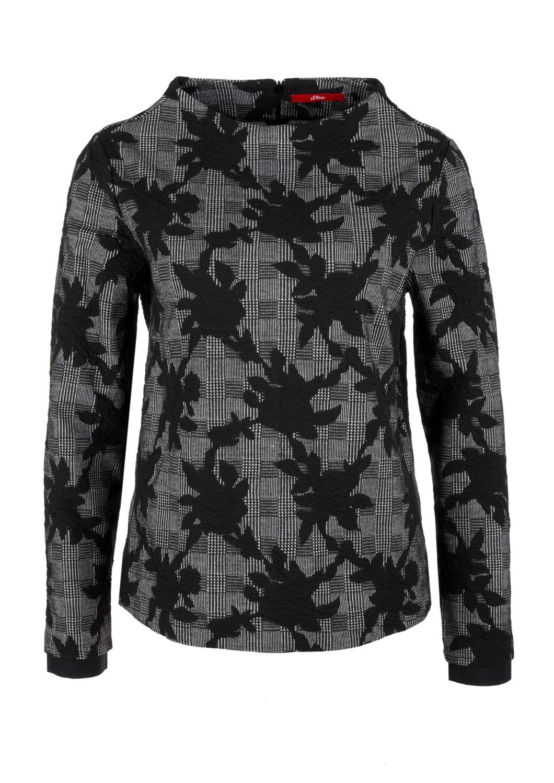 High-Neck-Sweatshirt