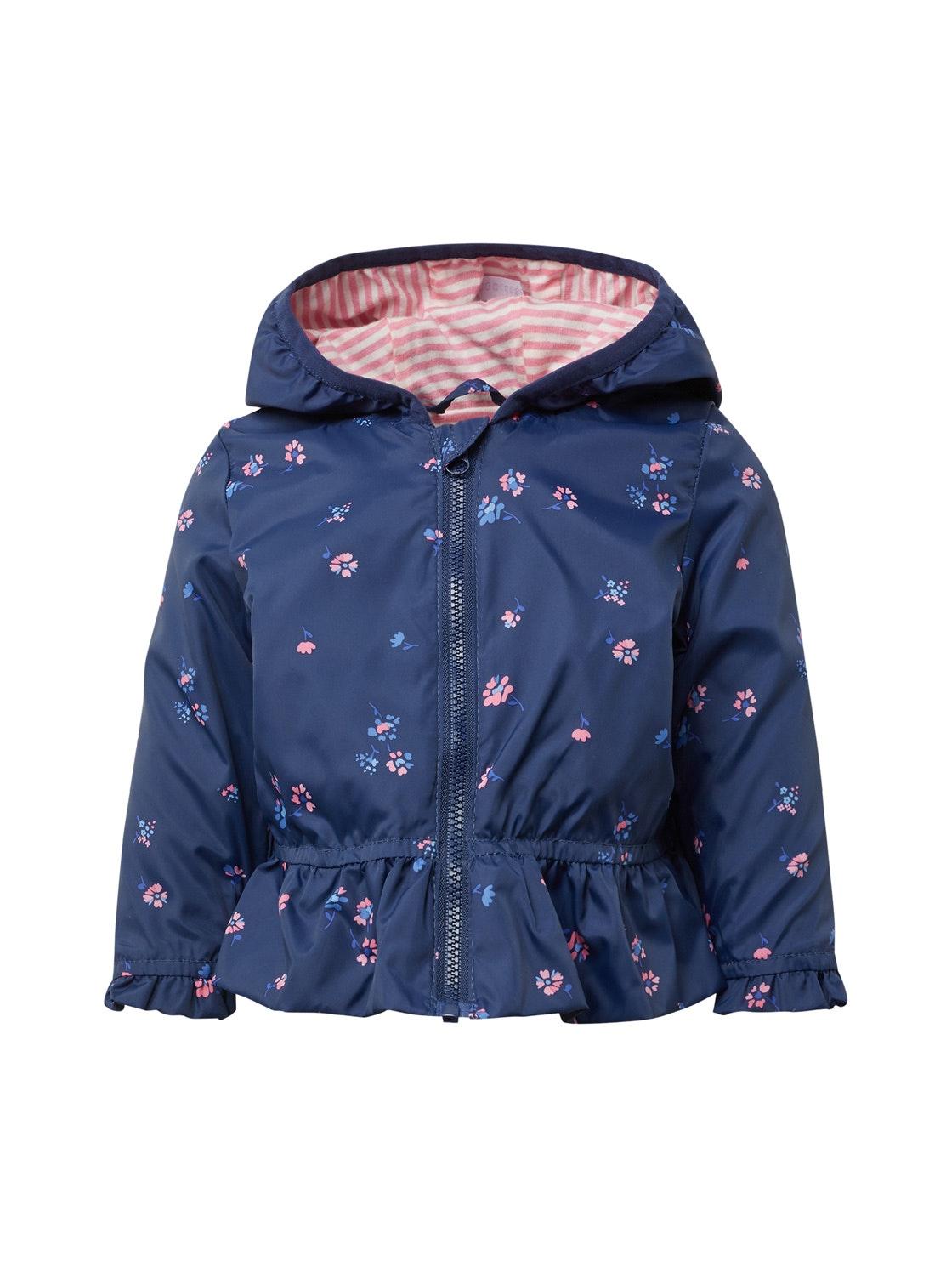 jacket patterned, medieval blue-blue