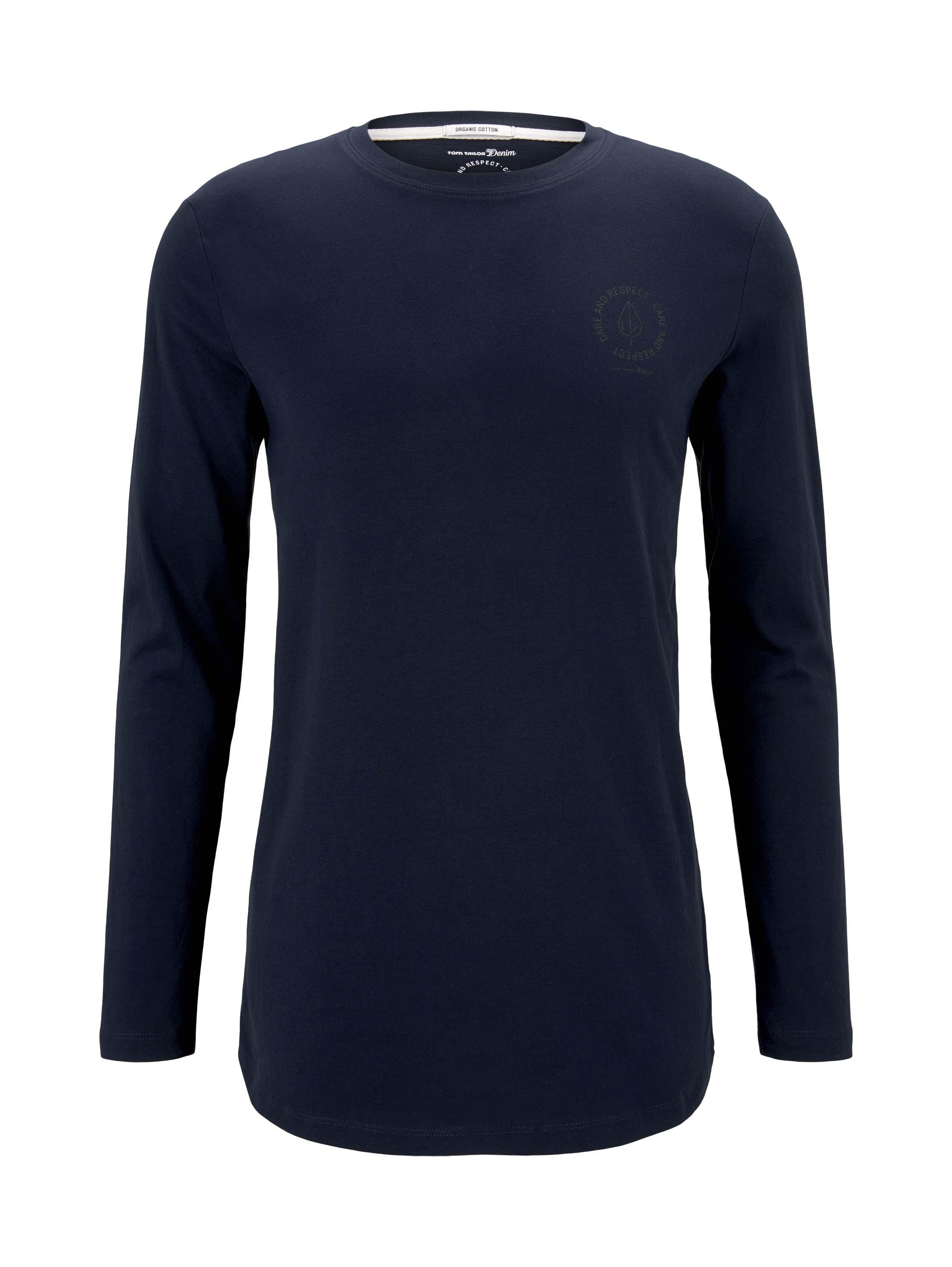 basic longsleeve T-shirt, Sky Captain Blue