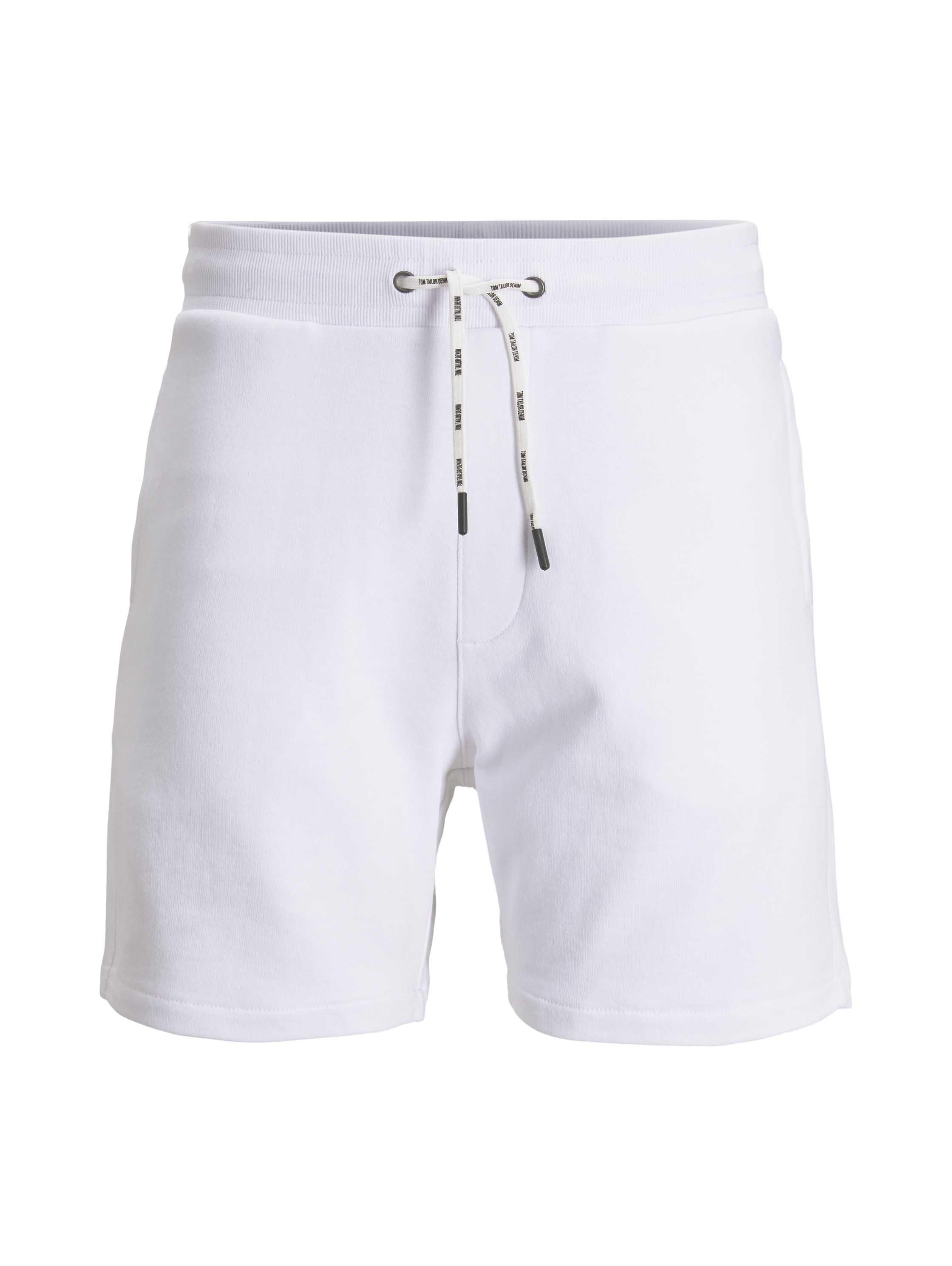 sweatshorts, White