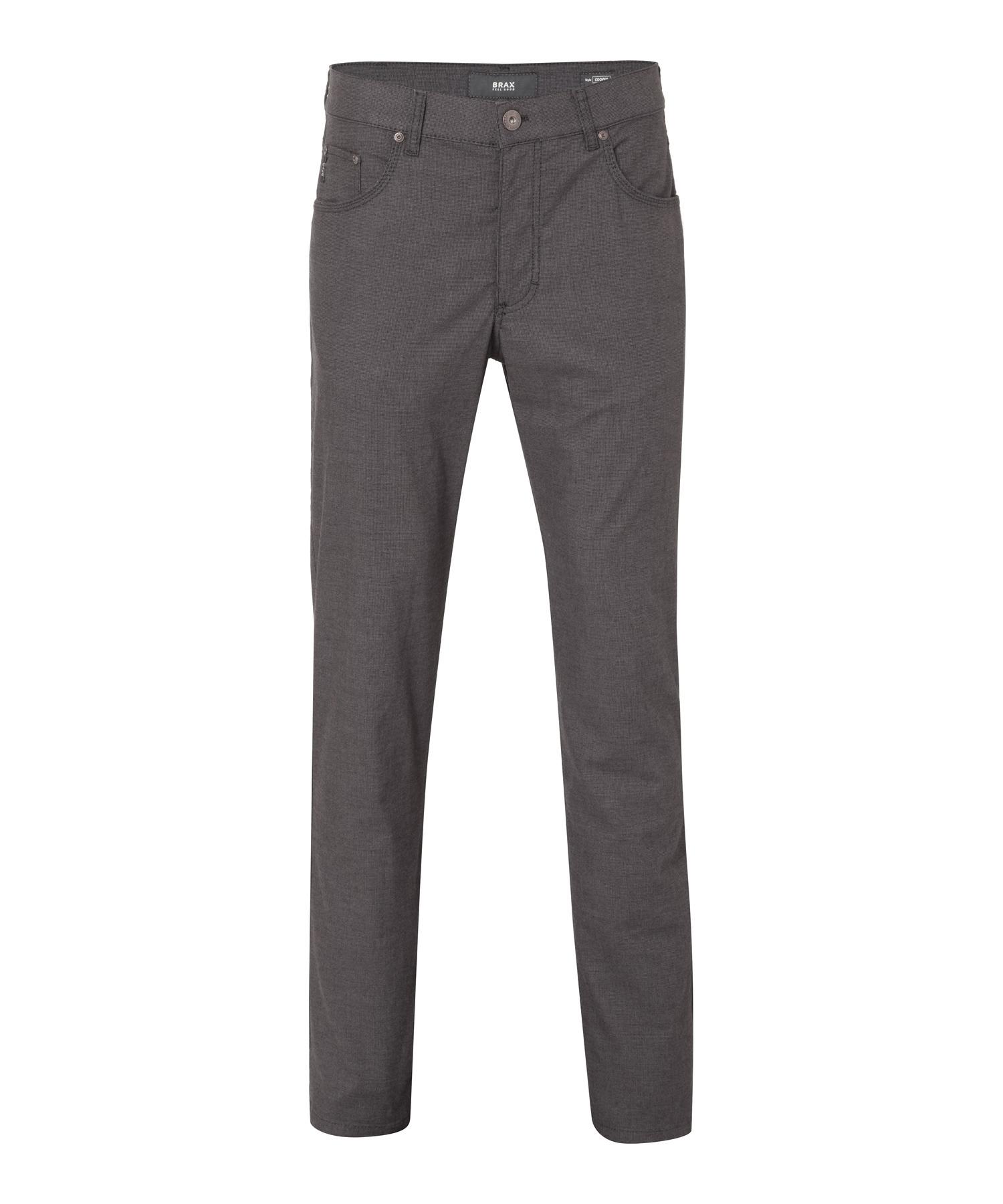 BRAX Feel Good - Cooper Fancy - Herrenhose Five Pocket - Grey