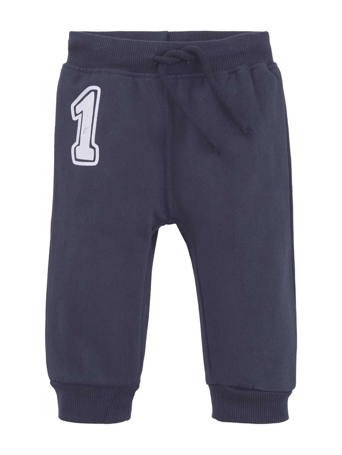 jogging pants striped, navy blazer-blue