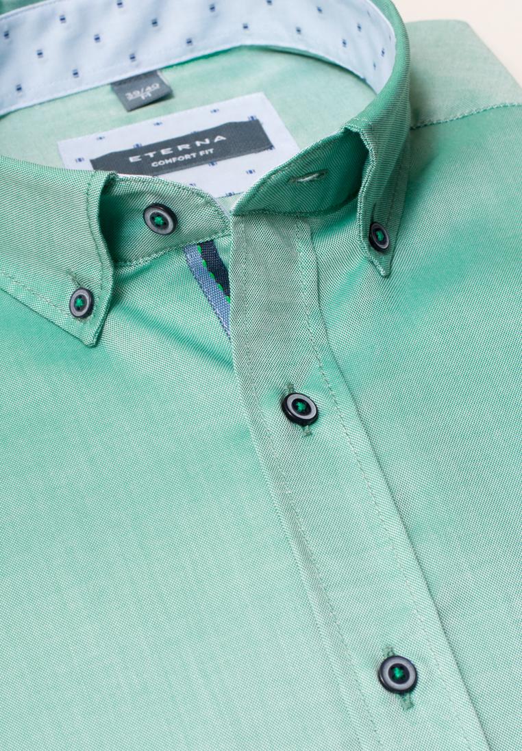 ETERNA COMFORT FIT Kurzarmhemd smaragdgrün