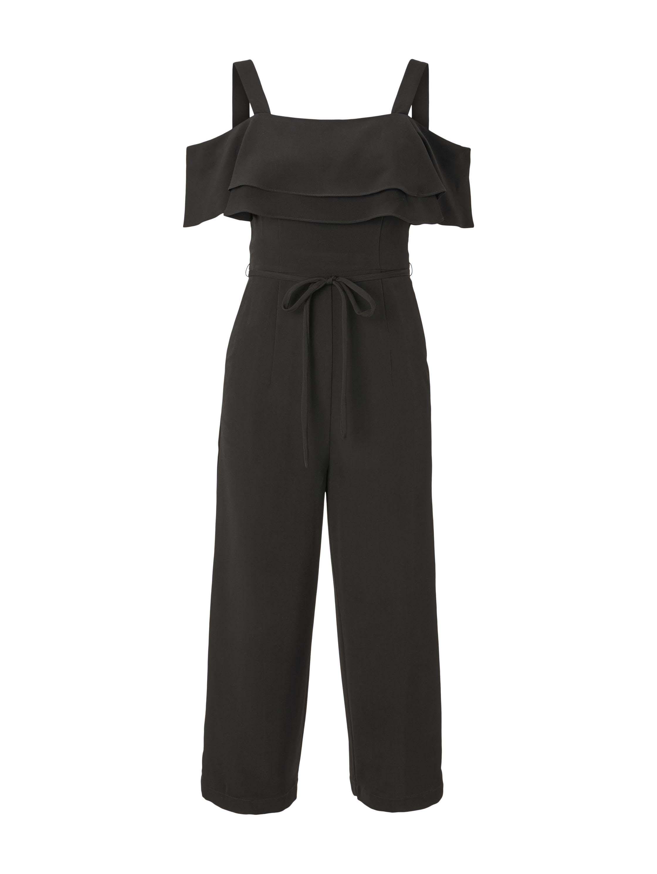 jumpsuit feminine, Deep Black
