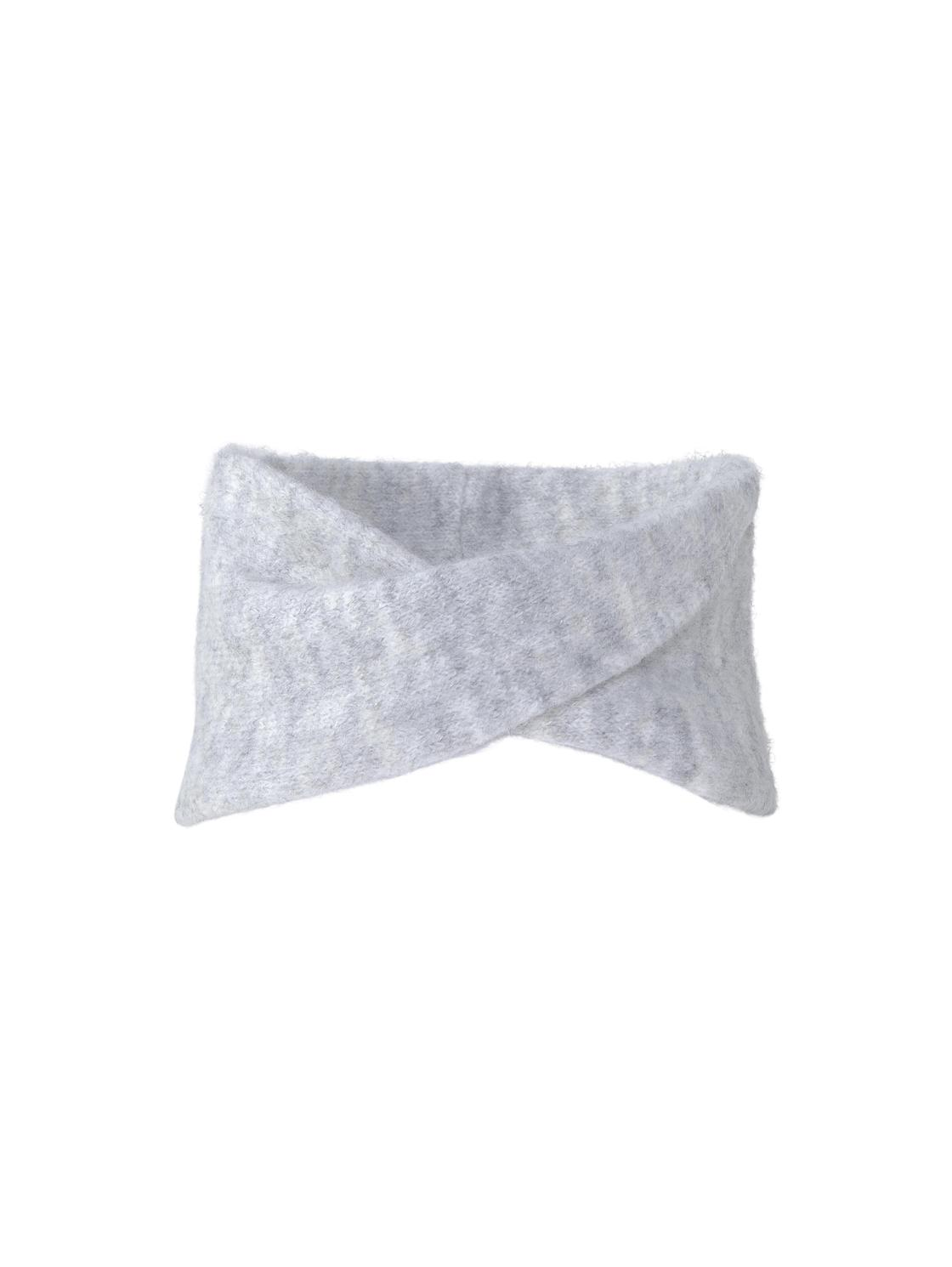 cosy headband, Light Silver Grey Mélange