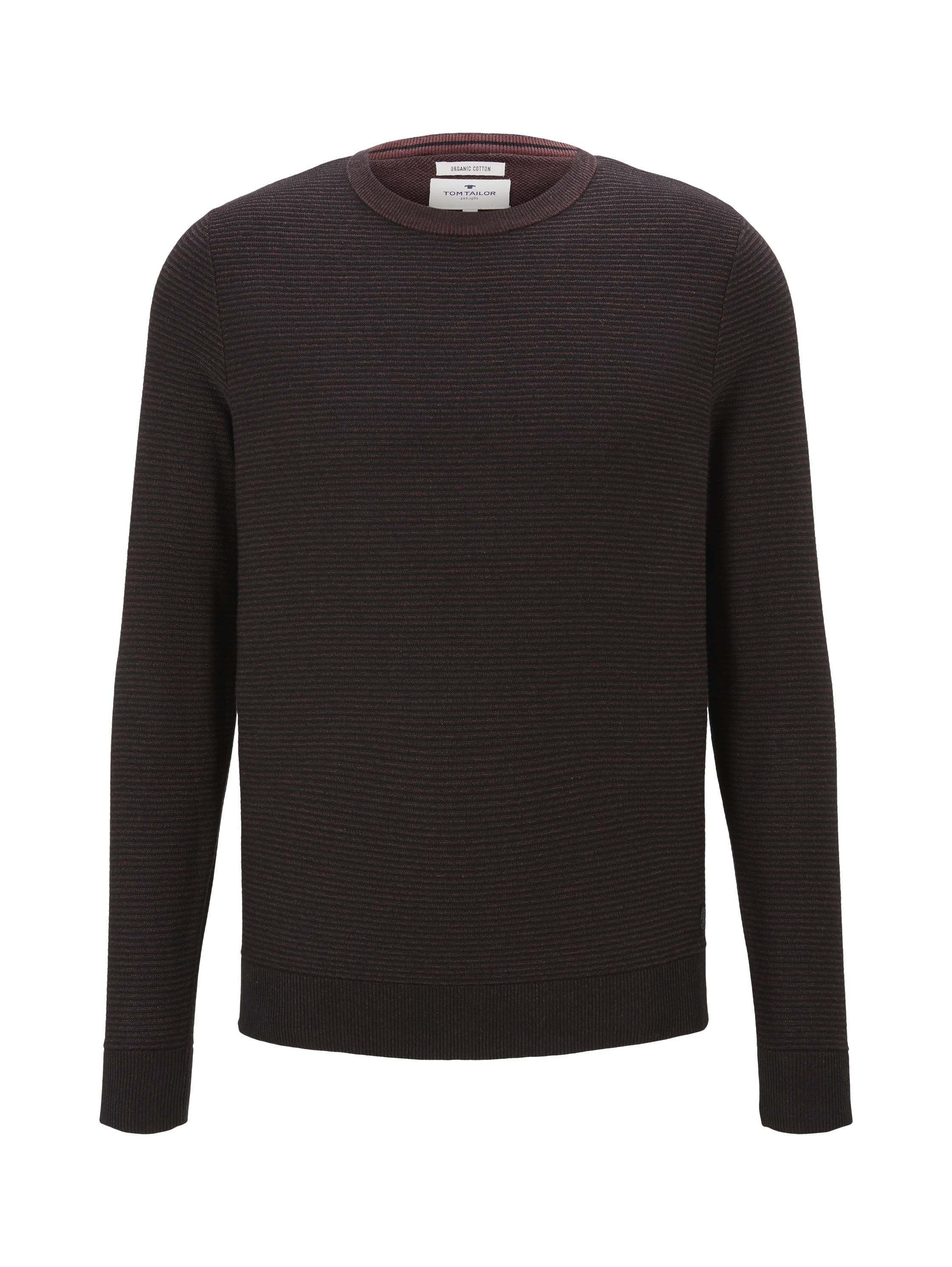 modern basic structure sweater, Dusty Wildberry Red