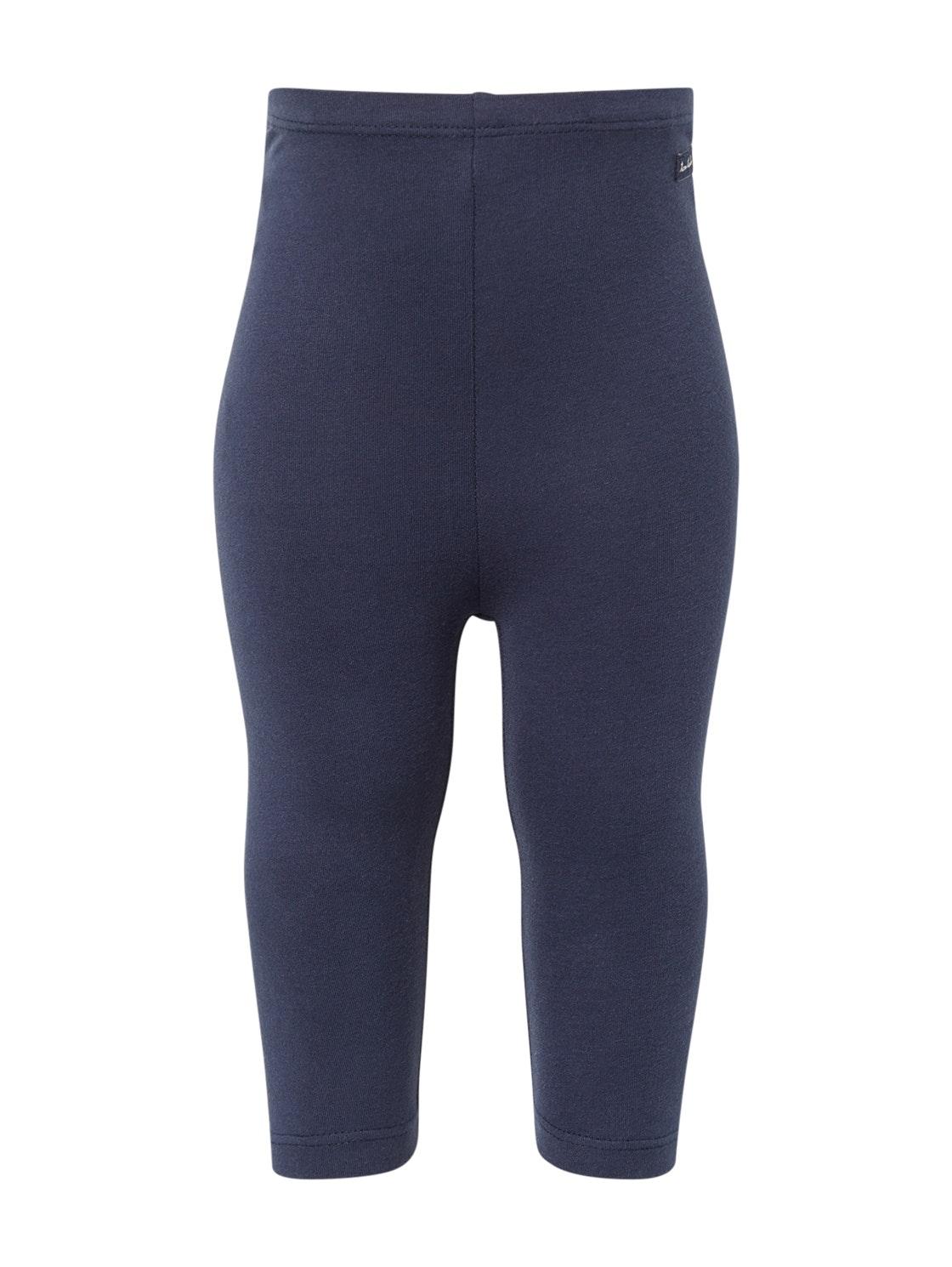 leggings solid, black iris-blue