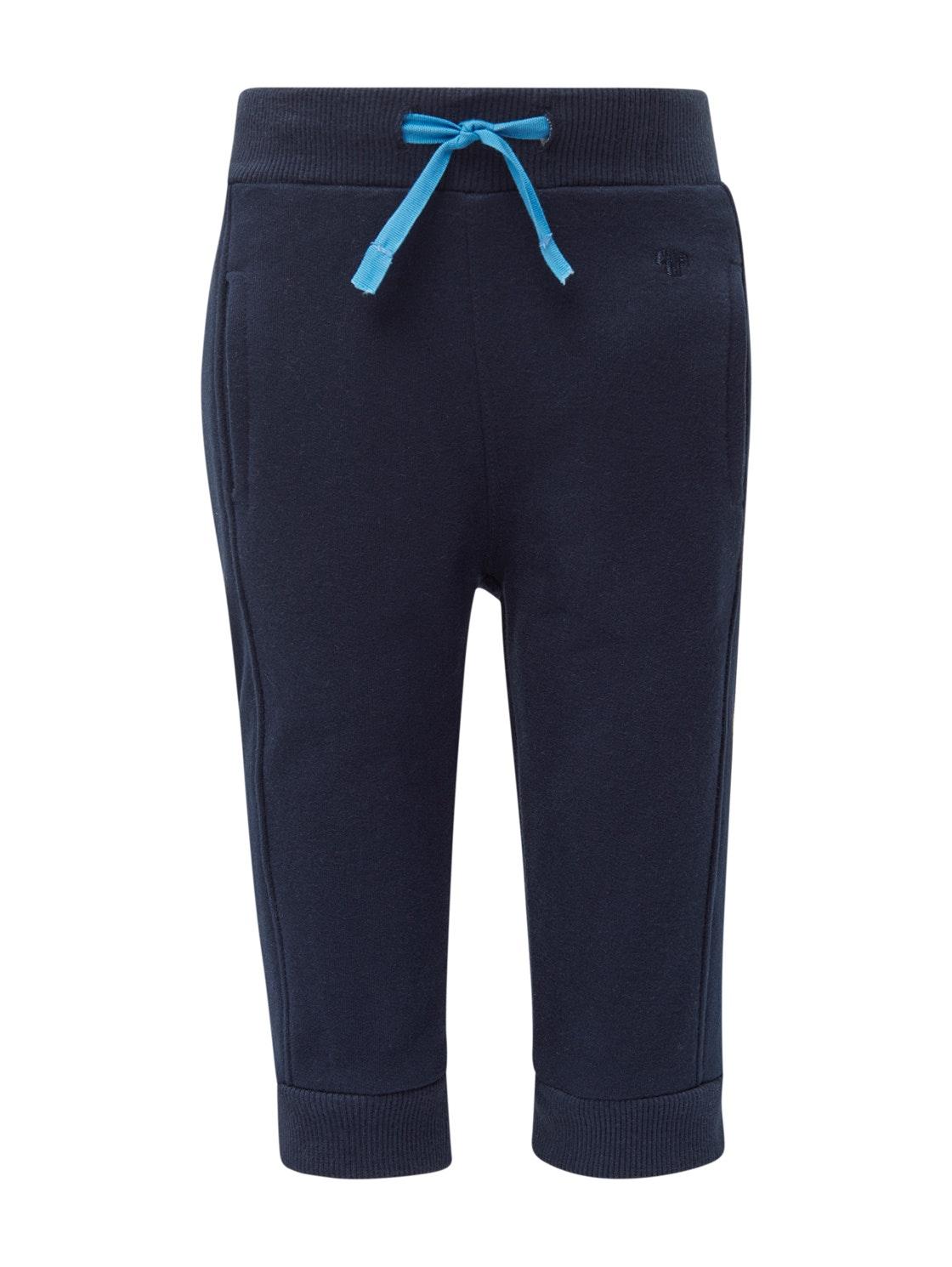 jogging pants solid, navy blazer-blue