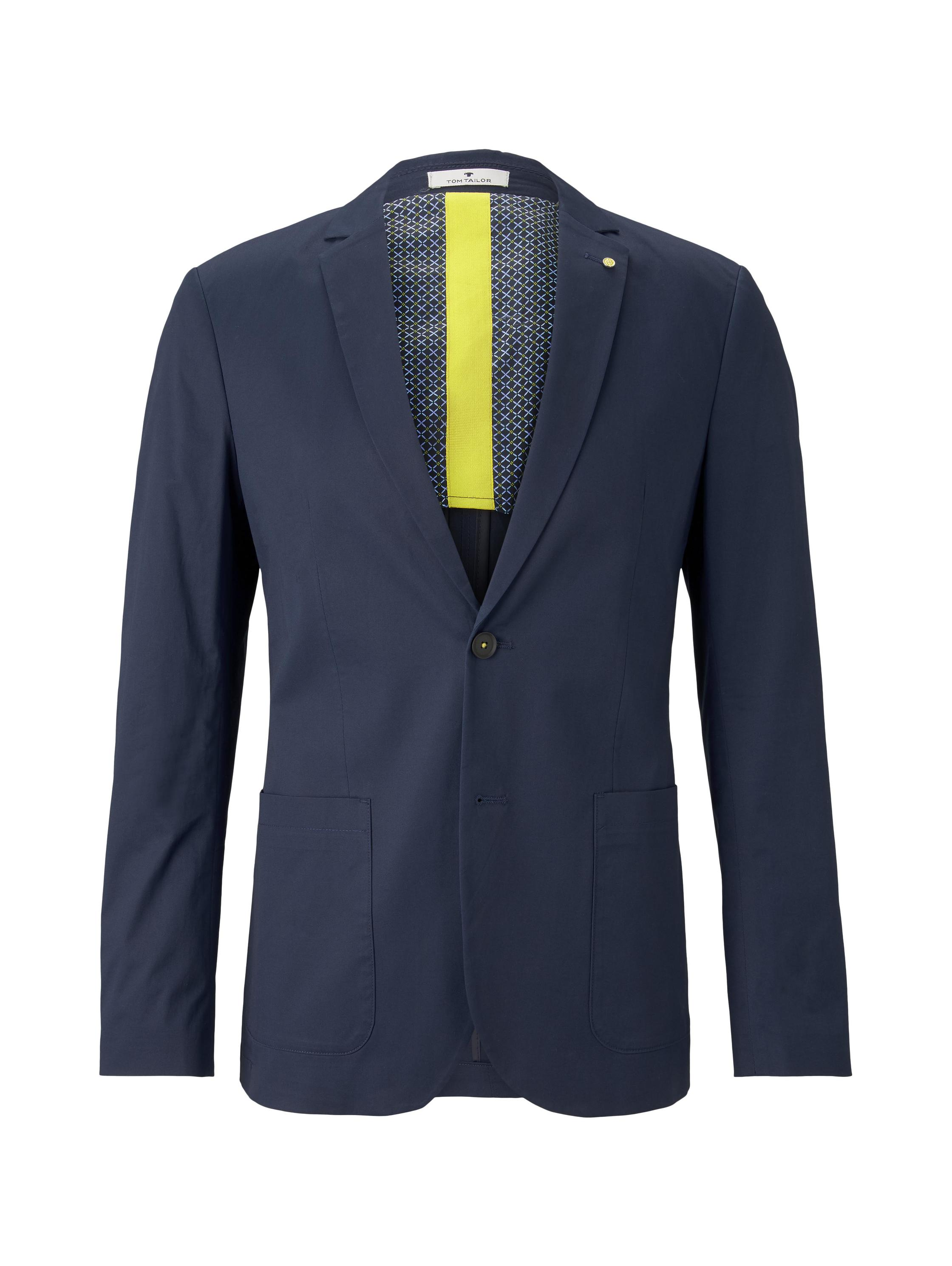casual blazer, Black Iris Blue