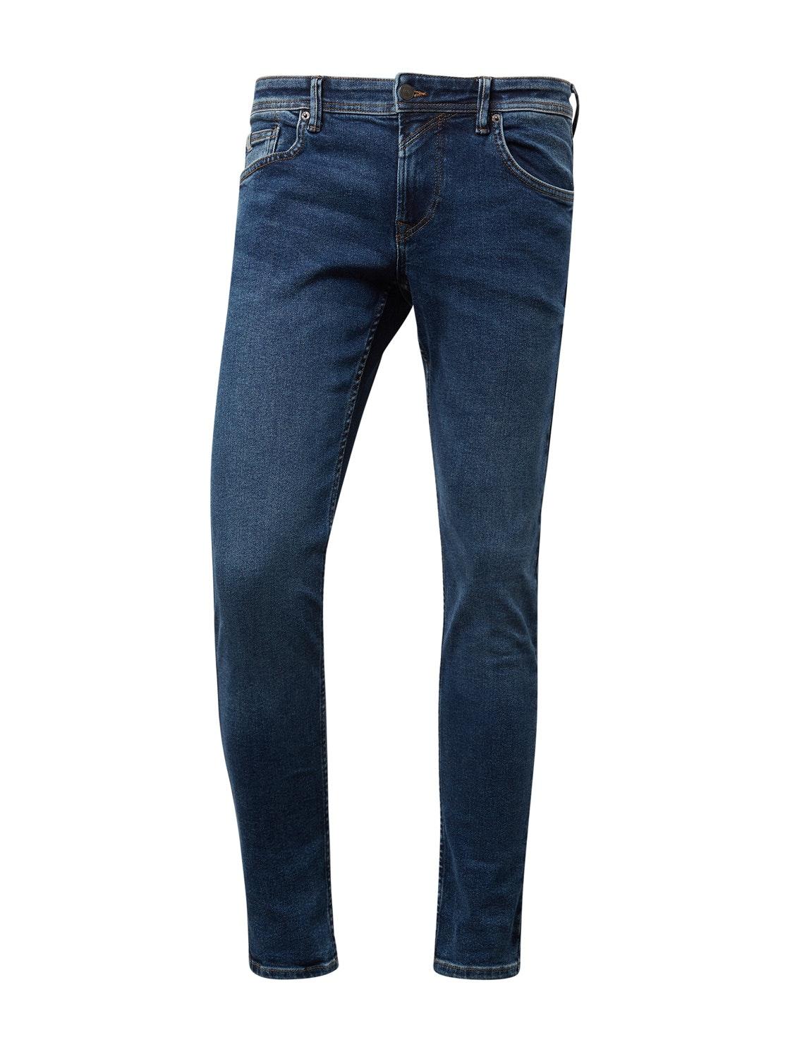 skinny CULVER vintage stretch, Used Mid Stone Blue Denim     Blue