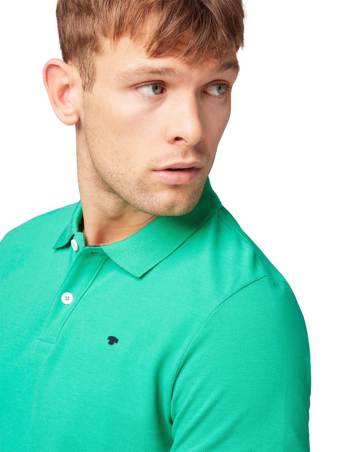 basic polo, cucmber green                 Green