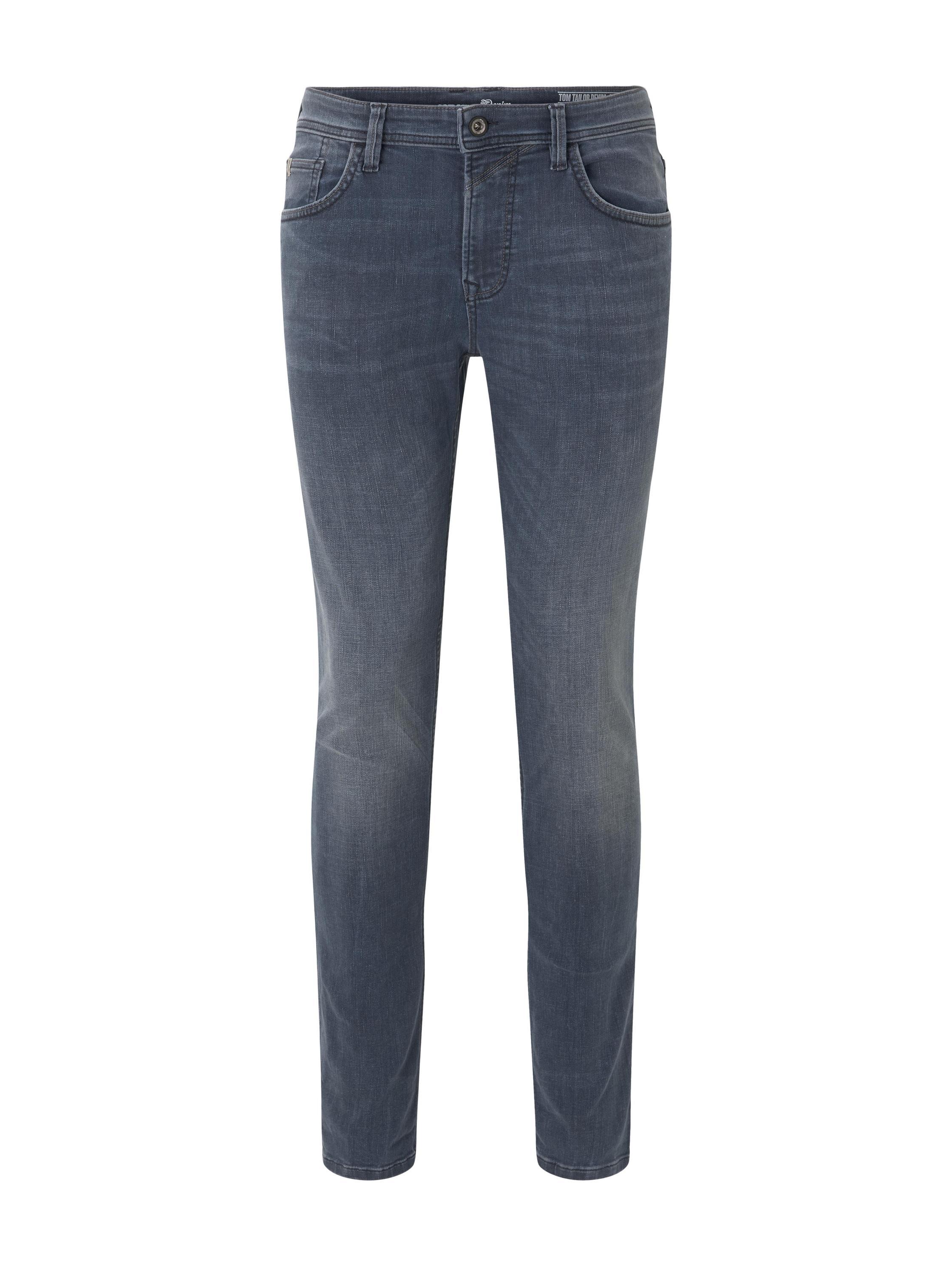 skinny CULVER greyblue stretch, dark stone blue grey denim