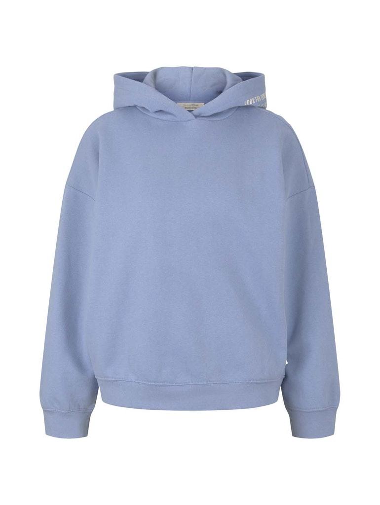 oversized hoodie, bel air blue