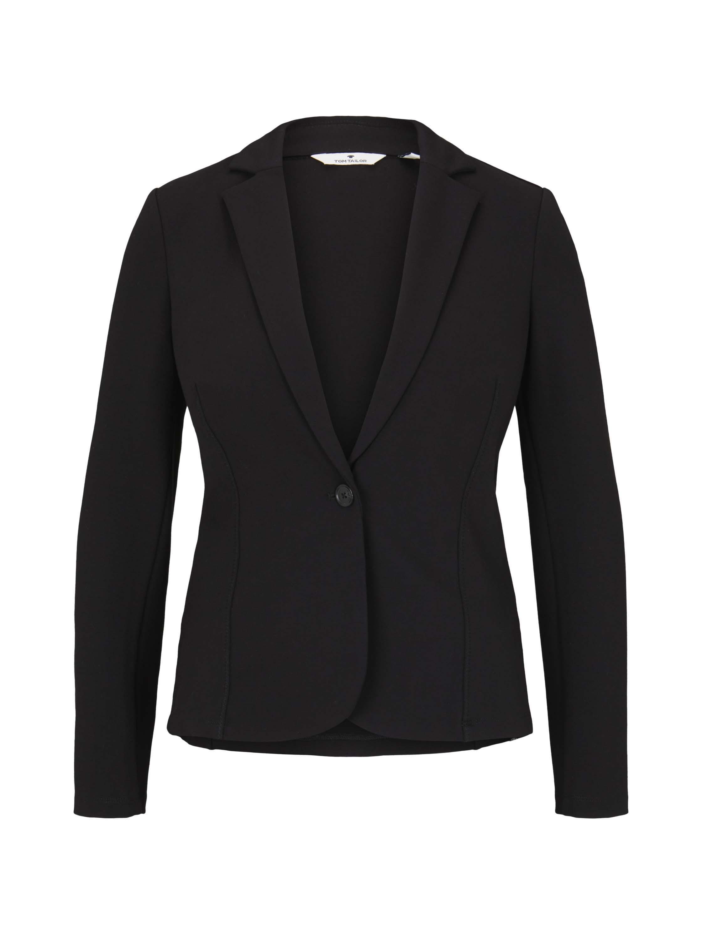 comfy blazer, Deep Black