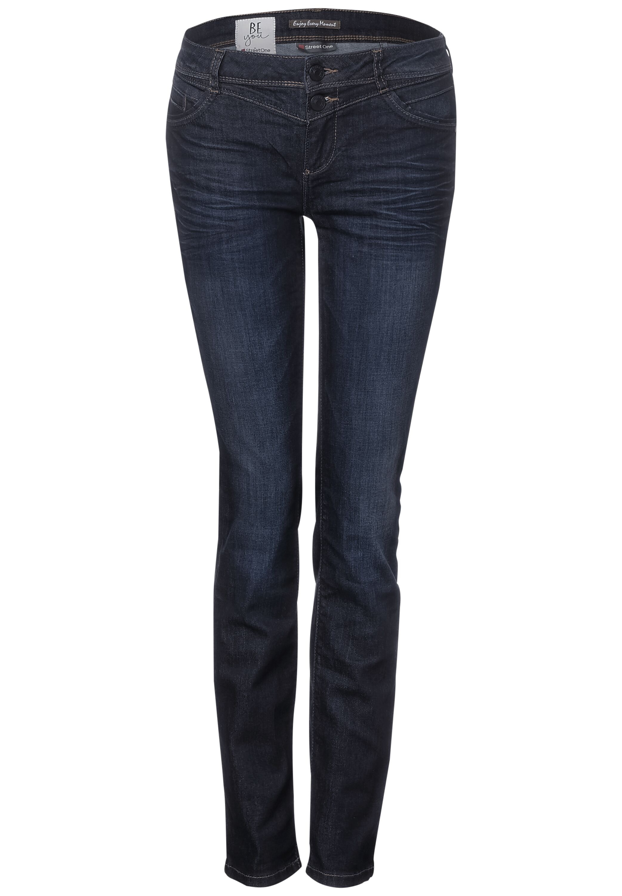 Washed Casual Fit Denim Jane