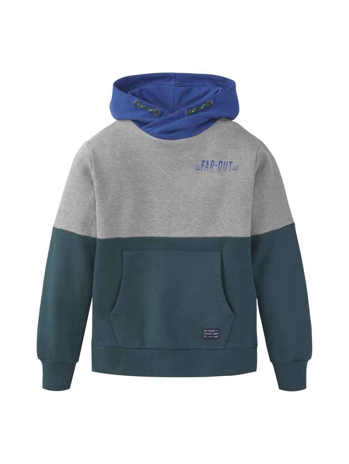 sweatshirt solid, deep teal-green