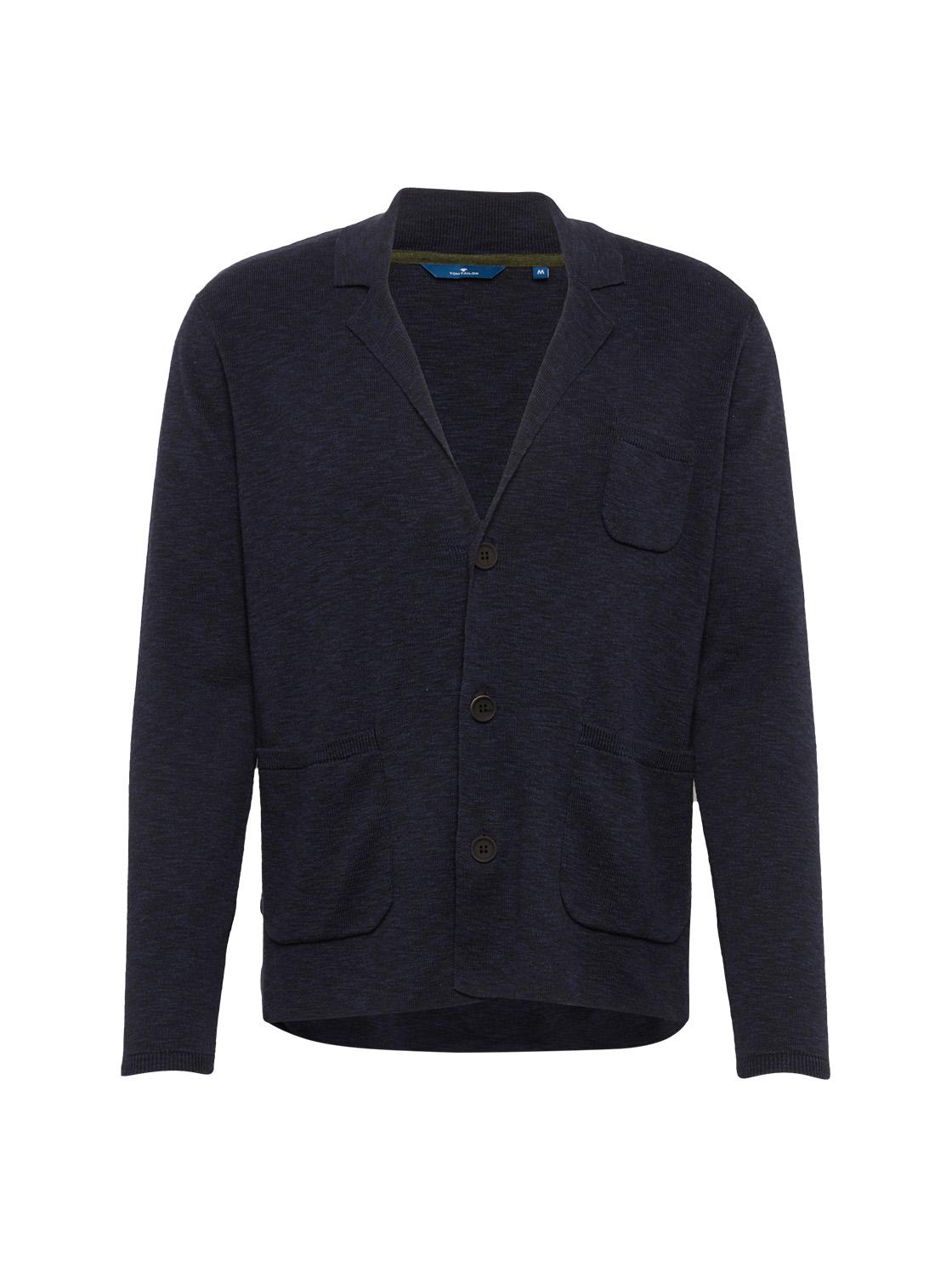 Blazer uni 1/1 lapel-collar, true dark blue