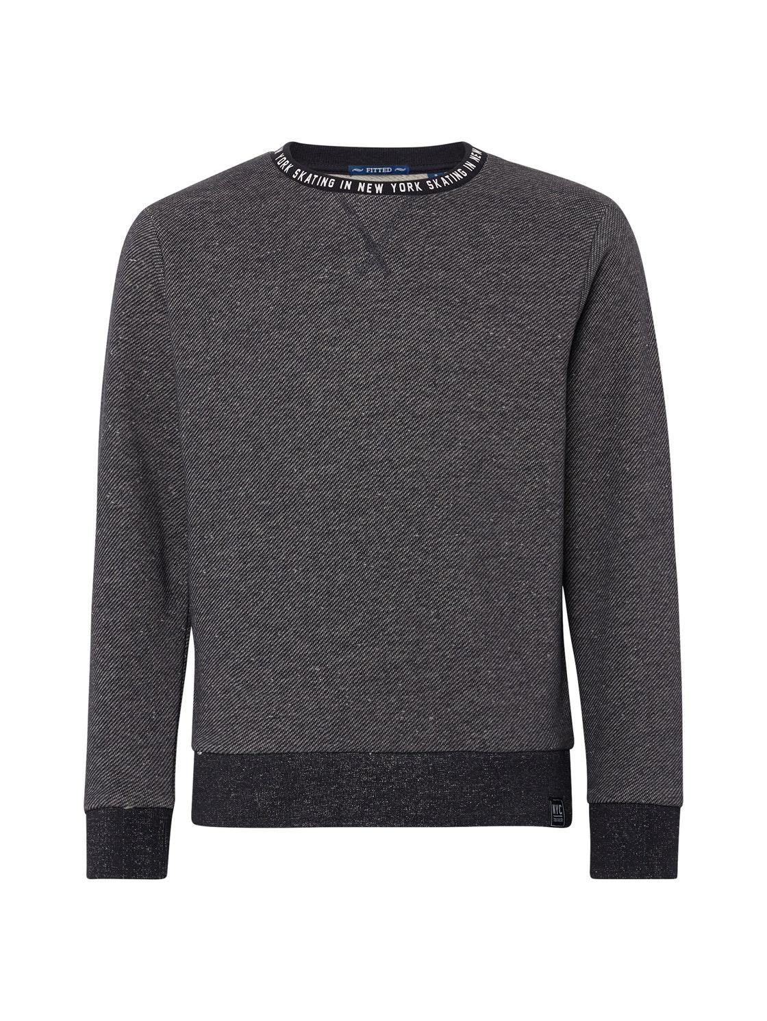 sweatshirt placed print, original-multicolored