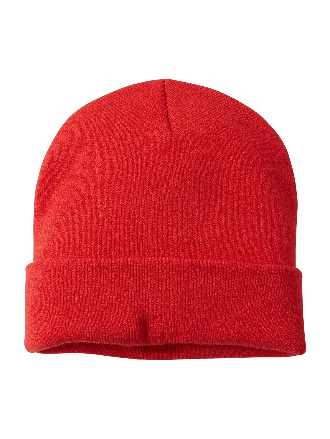 beanie, Scarlet Red                   Red